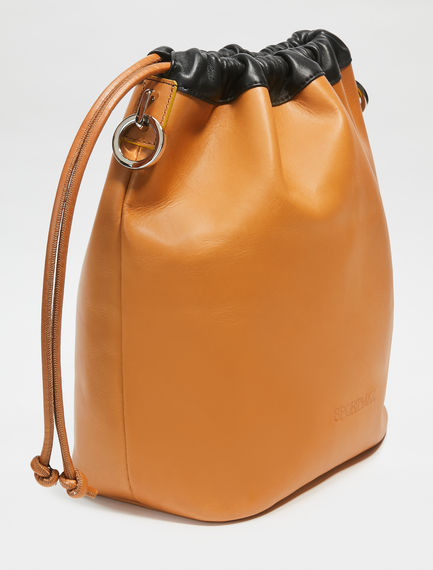 Multi-way Nappa Leather Sports Bag