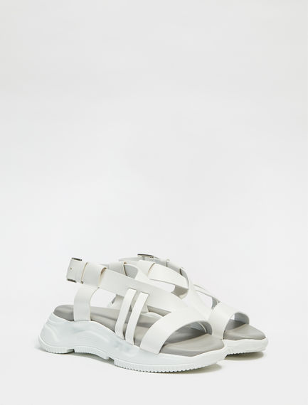 Leather Lattice Trek Sandals