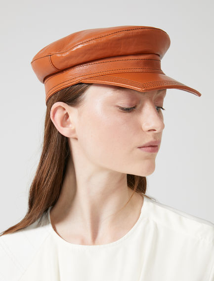 Cappello da marinaio in nappa Sportmax