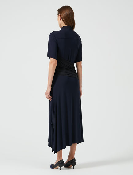 Wrap Jersey Tea Dress Sportmax