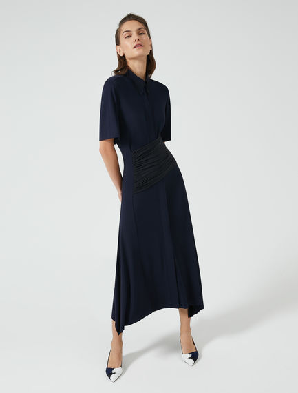 Wrap Jersey Tea Dress
