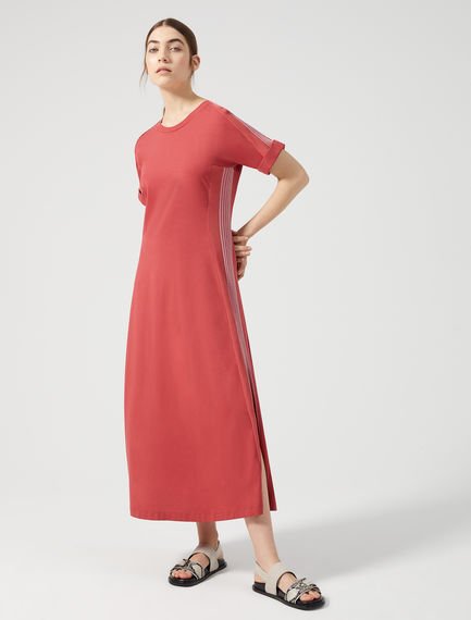 Cotton Jersey Court Dress Sportmax