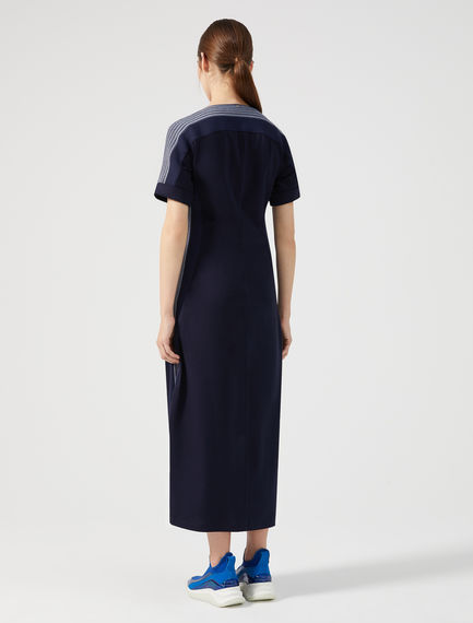 Cotton Jersey Court Dress