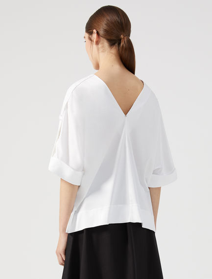 Double V Jersey Top Sportmax