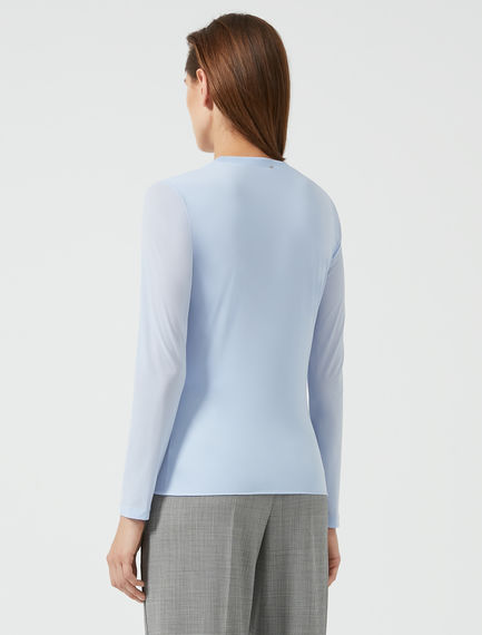 Double Layer Crewneck T-shirt Sportmax