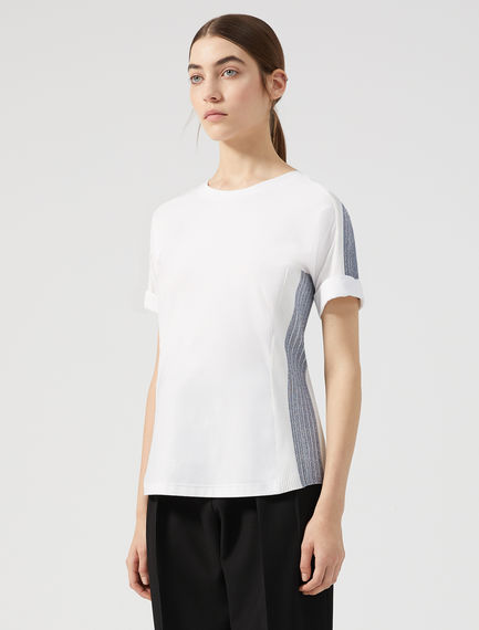 Dynamic Rib Stripe T-shirt Sportmax