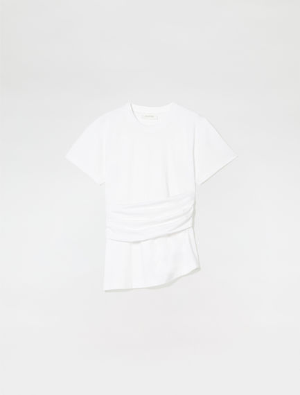 Sash Wrap T-shirt