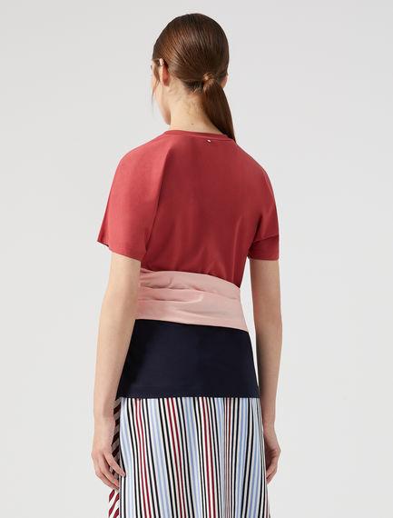 Sash Wrap T-shirt