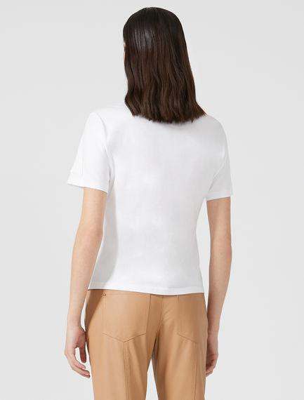 Badge Detail Cotton T-Shirt