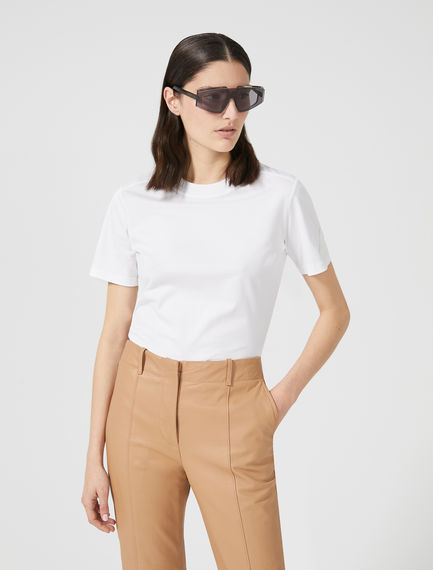 T-shirt con patch Sportmax