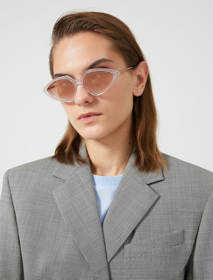 Speedster Layered Acetate Sunglasses Sportmax