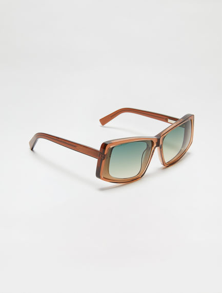 Dynamo Layered Acetate Sunglasses