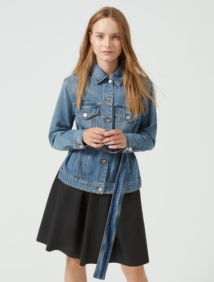 Soft-Sanded Denim Jacket Sportmax