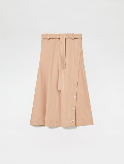 Button-Through Utility Skirt