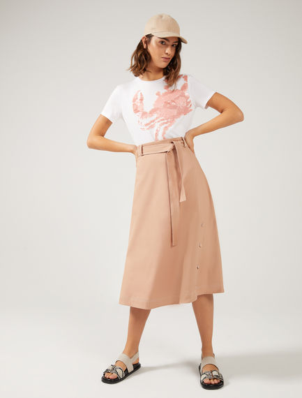 Button-Through Utility Skirt Sportmax