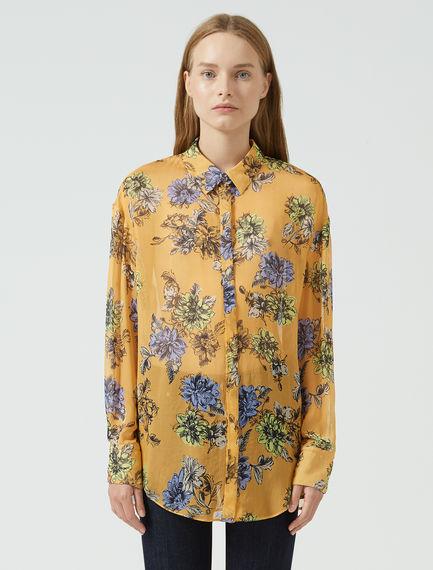 Blooming Chiffon Shirt