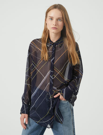Sheer Geometry Shirt Sportmax
