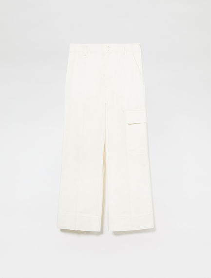 Tailored Gabardine Combat Trousers