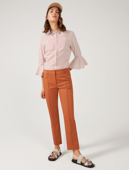 Tailored Gabardine Trousers Sportmax