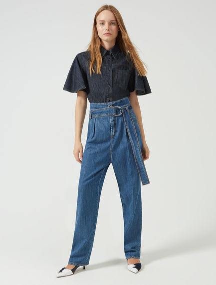 Slouchy High-Top Jeans Sportmax