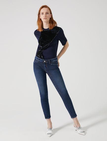 High-Resistance Zip Jeans Sportmax
