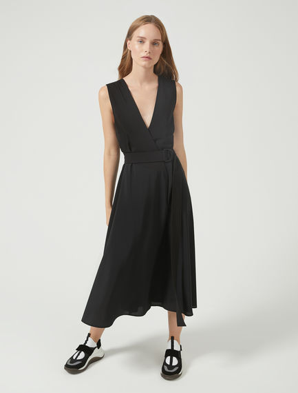 Fluid Wrap Dress Sportmax