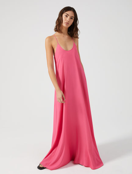 Silk Maxi Shift Dress Sportmax