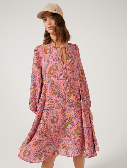 Paisley Trapeze Dress Sportmax