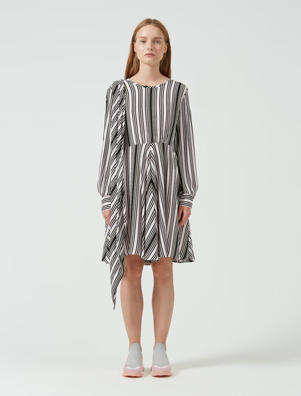 Mini dress con righe geometriche Sportmax