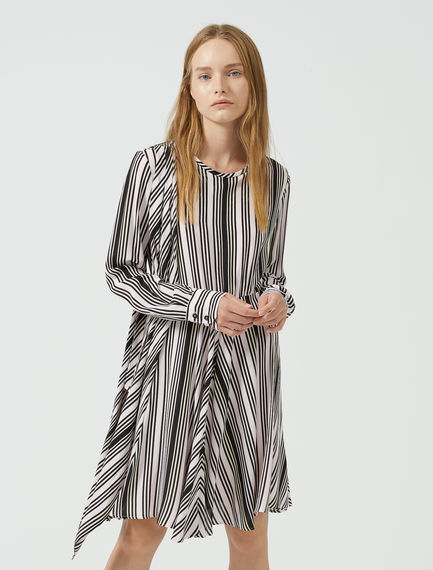 Geo Stripe Mini Dress Sportmax
