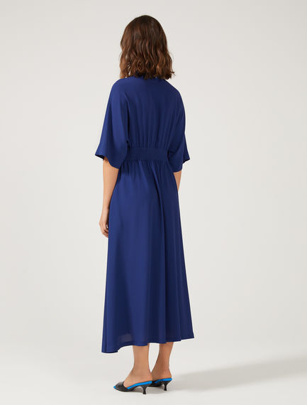 Flowing Silk Crêpe Dress
