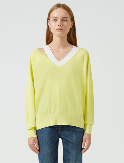 Deconstructed Rib Sweater Sportmax