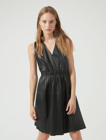Nappa Leather Dress Sportmax