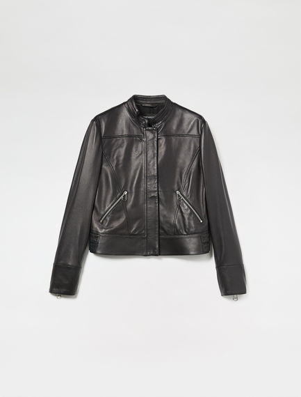 Nappa Leather Moto Jacket
