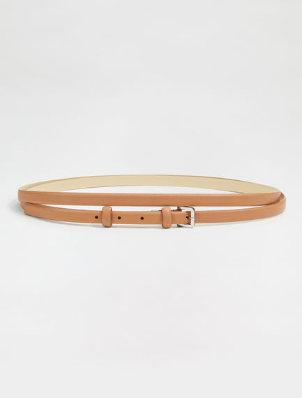 Hooped Nappa Belt