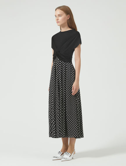 Hybrid Polka Dot Dress