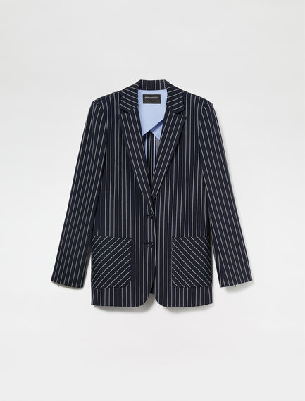 Chalk Stripe Dinner Jacket