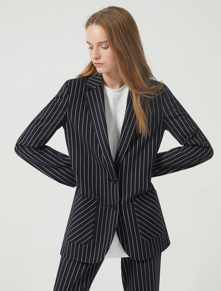 Chalk Stripe Dinner Jacket Sportmax