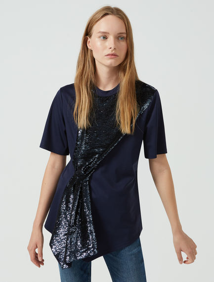 Sequin Fall T-shirt Sportmax