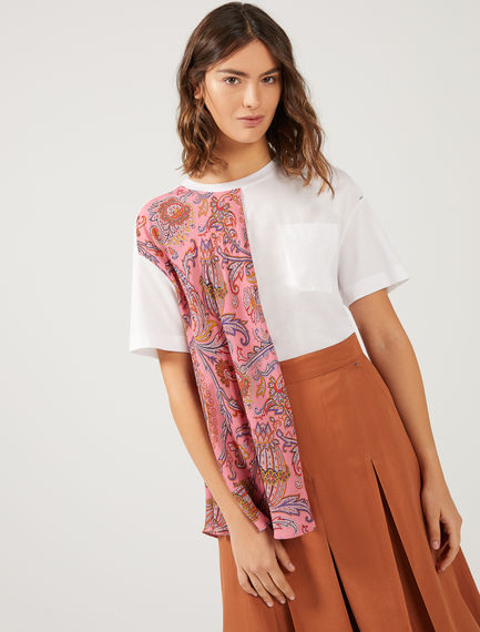 Layered Paisley T-shirt