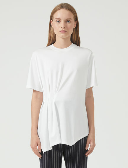 Pinched Pleat T-Shirt