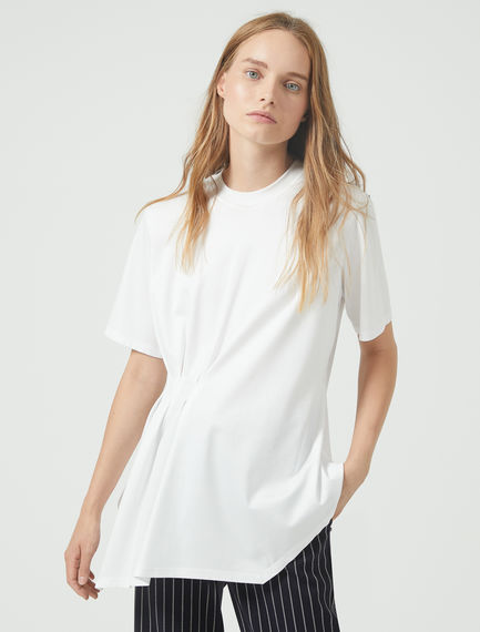 Pinched Pleat T-Shirt Sportmax