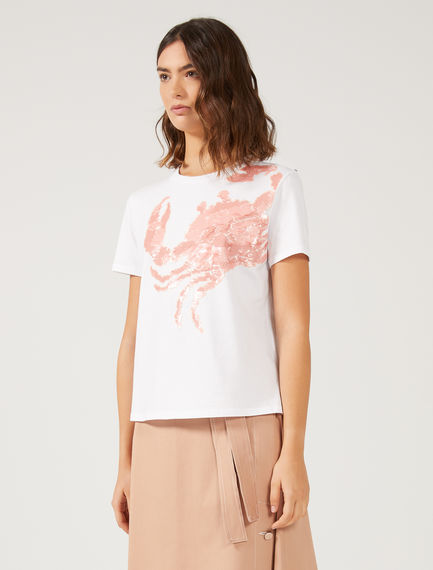 Sequinned Crab T-shirt