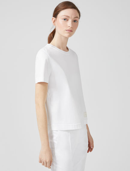 Ultra-Soft Cotton T-shirt Sportmax