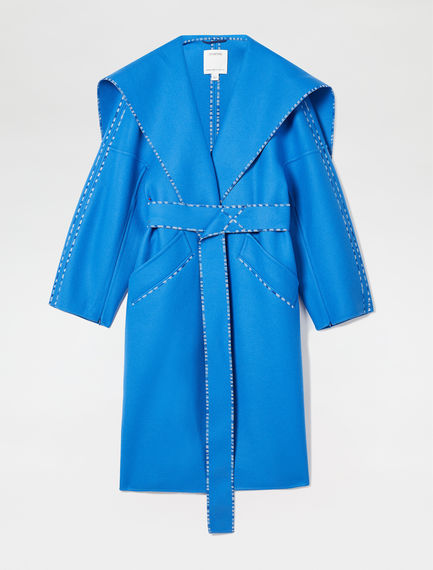 Wool and Cashmere Wrap Coat