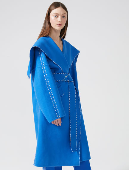 Wool and Cashmere Wrap Coat Sportmax