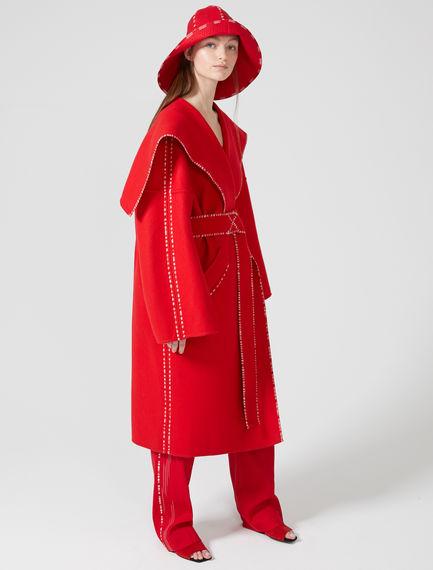 Wool & Cashmere Wrap Coat
