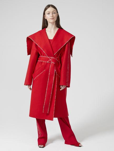 Wool & Cashmere Wrap Coat Sportmax