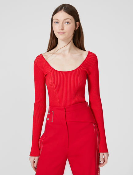 Viscose Ballerina Sweater Sportmax