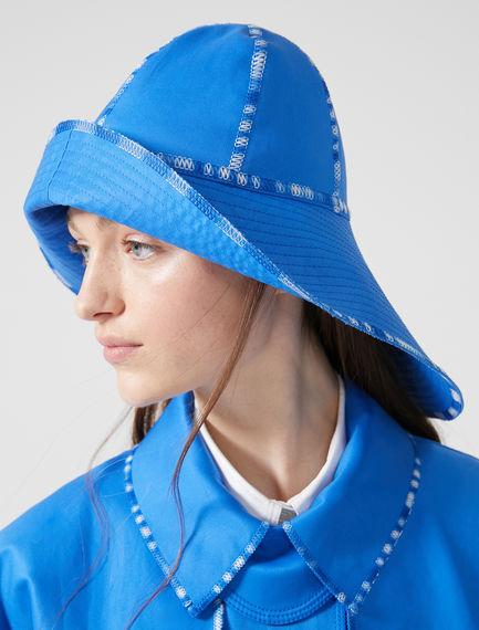 Asymmetric Wide Brim Hat